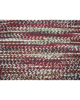 Modern Rugs Fishtail Rgo Multi-colored Area Rug nvk_ftail-I Rug Size: Rectangle 9' x 12'