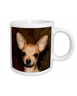 East Urban Home Chihuahua Portrait Coffee Mug W000091885 Color: White