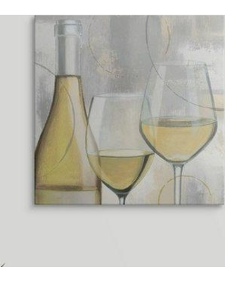 """Great Big Canvas 'Taste Appeal White II' by James Wiens Painting Print 2175027_1 Size: 16"""" H x 16"""" W x 1.5"""" D Format: Canvas"""
