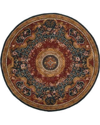 Safavieh Classic Assorted 8 ft. x 8 ft. Round Area Rug