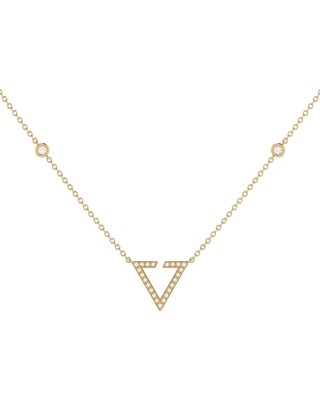 LMJ - Skyline Necklace In 14 Kt Yellow Gold Vermeil On Sterling Silver