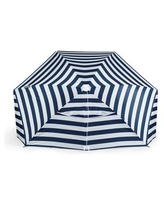 Oniva by Picnic Time Brolly Beach Umbrella Tent - Navy And White Stripe