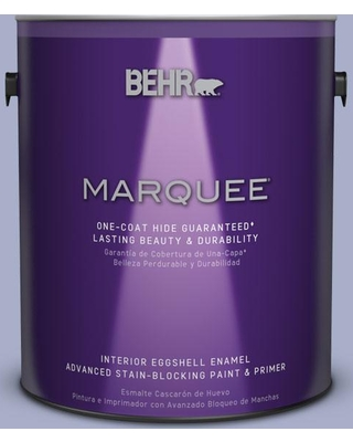 BEHR MARQUEE 1 gal. #S540-3 Meadow Phlox One-Coat Hide Eggshell Enamel Interior Paint and Primer in One