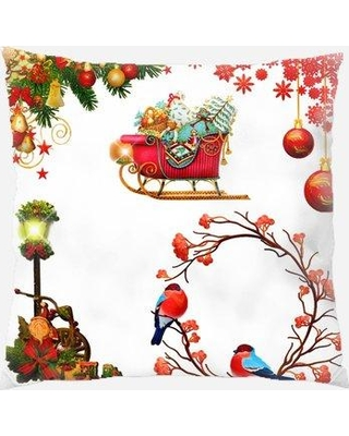 Don T Miss Deals On The Holiday Aisle Bremond Christmas Ornaments Indoor Outdoor Canvas Throw Pillow X111920436