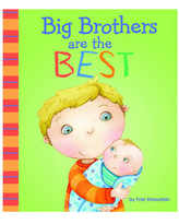 Big Brothers Are The Best - Books for Babies - Fat Brain Toys
