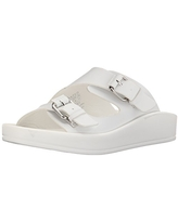 Wanted Shoes Women's Sunray, White, 9 M US