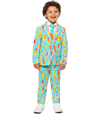 d90bdd12d7bb6 Amazing Deal on Toddler Boy's Opposuits Cool Cones Two-Piece Suit ...