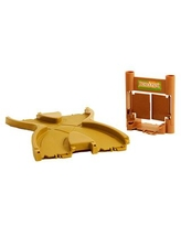 Bend A Path Crossroad Figure Eight Multi-Direction Expansion Link with Gate Accessory - Brown