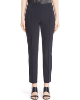 Women's Lafayette 148 New York 'Gramercy' Acclaimed Stretch Pants, Size 10 - Blue