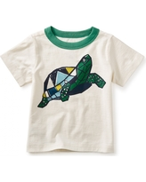 Tea Collection Turtle Power Graphic Baby Tee