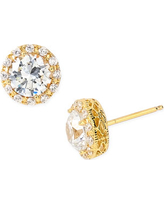 Women's Nordstrom Pave Round Stud Earrings