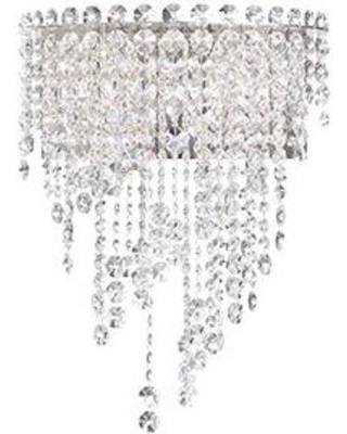 Schonbek Chantant 1-Light Flush Mount CH1232N-401A / CH1232N-401H Crystal Type: Heritage Clear