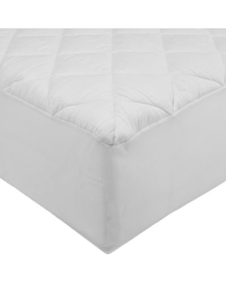 St. James Home 300-Thread Count Stain-Resistant Full Mattress Pad