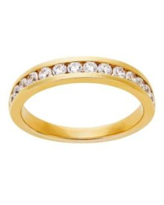 Belk & Co. Yellow Gold Grown With Love 1/2 ct. t.w. Lab Grown Diamond Wedding Band in 14K Yellow Gold