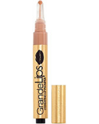 Grande Cosmetics GrandeLIPS Hydrating Lip Plumper, Gloss Finish - Barely There (light pale nude)
