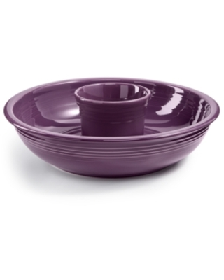 Fiesta Mulberry Chip & Dip Set