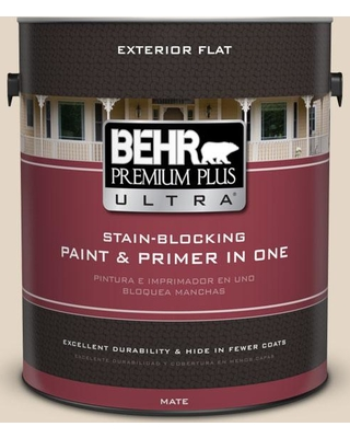 Get Ahold Of Fantastic Deals On Behr Ultra 1 Gal N270 1 High Style Beige Flat Exterior Paint And Primer In One