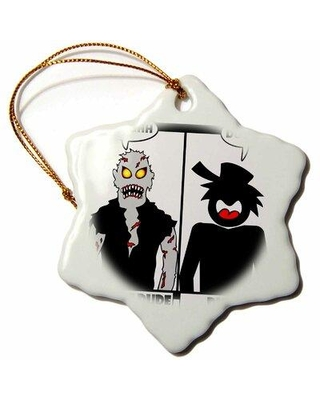 Don T Miss These Deals On The Holiday Aisle Zombie Dude Image 2 Holiday Shaped Ornament X113644871