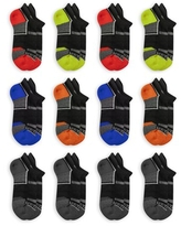 Fruit of the Loom Boys Socks, 12 Pack Low Cut Everyday Active Sizes M - L