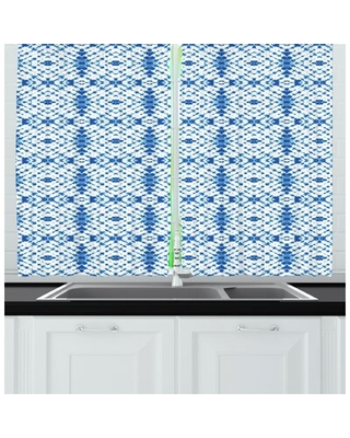 Ethnic Kitchen Curtain East Urban Home