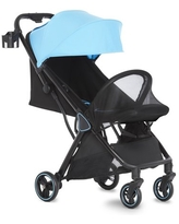 Dream On Me Insta Auto Frame Stroller, Blue