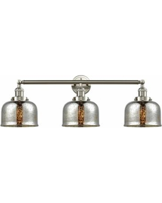 Innovations Lighting Bruno Marashlian Large Bell 32 Inch 3 Light LED Bath Vanity Light - 205-SN-S-G78-LED