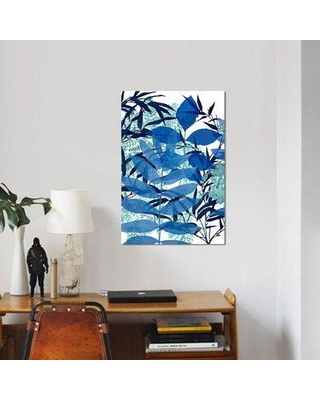 """East Urban Home 'Morning Dew I' Graphic Art Print on Canvas ESUI2445 Size: 60"""" H x 40"""" W x 1.5"""" D"""