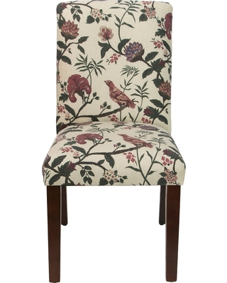 Printed Parsons Dining Chair Shaana Holiday Red - Threshold