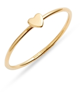 Set & Stones Ryanne Heart Ring, Size 6 in Gold at Nordstrom