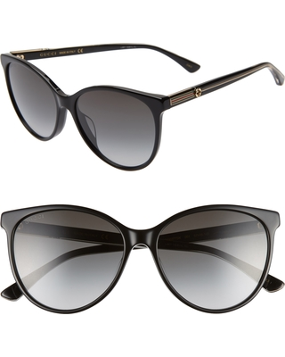 7852e5cedae Check Out These Major Deals on Women s Gucci 57Mm Cat Eye Sunglasses ...