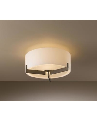 Hubbardton Forge Axis 12 Inch 1 Light Semi Flush Mount - 126401-1003