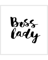 Brayden Studio Brett Wilson Boss Lady Shower Curtain BRSD5074