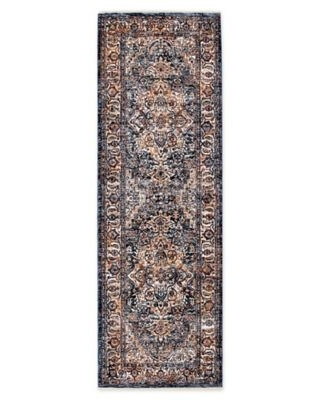 Bee & Willow™ Home Ashbrook 2'3 x 10' Runner in Navy/Ivory