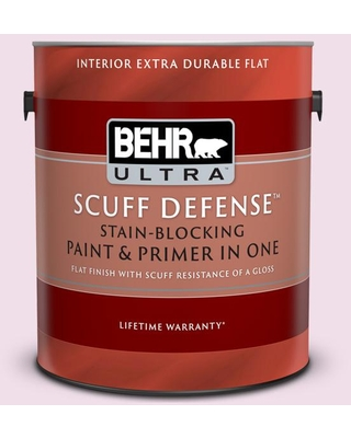 Sales On Behr Ultra 1 Gal M120 1 Pink Proposal Extra Durable Flat Interior Paint Primer