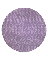 Deals For Aleia Chevron Purple Area Rug Ebern Designs Rug Size Round 5