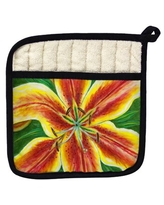 New Deal For Betsy Drake Interiors Lilies Potholder Betsy Drake Interiors