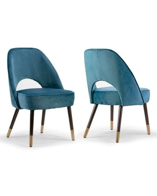 Swind Upholstered Dining Chair Everly Quinn