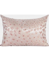 G Home Collection Handmade Beaded Lumbar Pillow ML141158-p