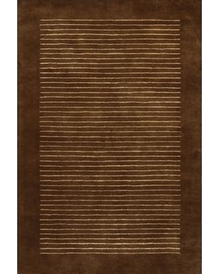 """17 Stories Laurent Brown/Tan Area Rug STSS6436 Rug Size: Rectangle 7'9"""" x 10'6"""""""