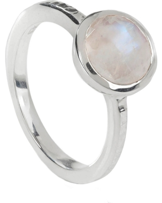3b082bd0657 New Bargains on Neola - Estella Sterling Silver Ring Rainbow Moonstone
