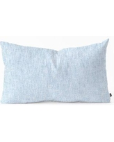 East Urban Home Holli Zollinger Acid Wash Lumbar Pillow ERBS1574 Color: Light Blue