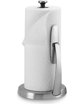 OXO Paper Towel Holder, Brushed Stainless-Steel