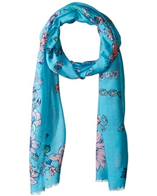 Collection XIIX Women's Hello Spring Wrap, turquoise, One Size