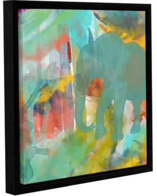 """Bloomsbury Market 'Spectacular Effect II' Framed Painting Print on Wrapped Canvas BLMT3885 Size: 24"""" H x 24"""" W x 2"""" D"""