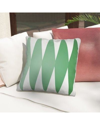 """George Oliver Wakefield Throw Pillow GOLV1169 Color: Green Size: 22"""" H x 22"""" W x 5"""" D"""
