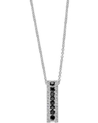 Effy White Gold 5/8 ct. t.w. Diamond Pendant Necklace in 14k White Gold