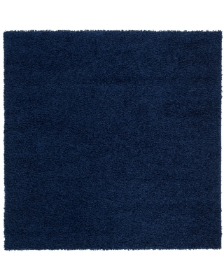 """6'7""""X6'7"""" Solid Loomed Square Area Rug Navy - Safavieh"""