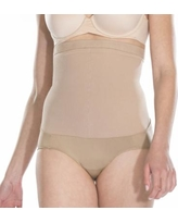 Red Hot by Spanx Super Control High-Waist Panty 1841 - Women's, Size: 2, Beige