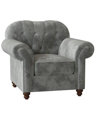 Birch Lane™ Heritage Lucie Chair and a Half X111165924 Body Fabric: Shack Biscuit