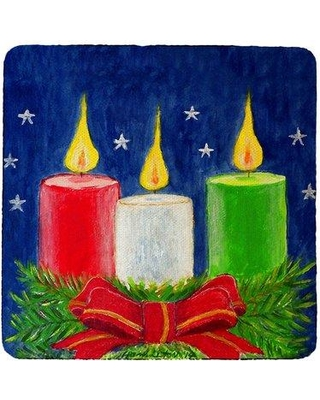 Amazing Deal On The Holiday Aisle Francesca Candles Coaster Silicone In Red Blue Green Size 4 H X 4 W Wayfair 50e744728a4c4f9b8e082900852269c7